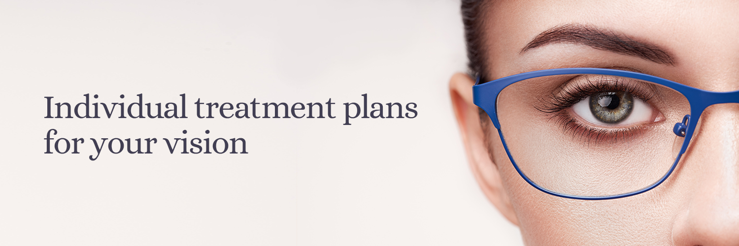 Vision treatment plans from Oldbury & Cruickshank Opticians